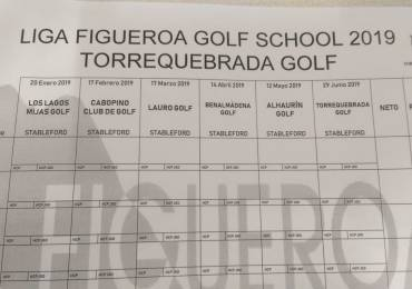 Liga Figueroa Golf School 2019