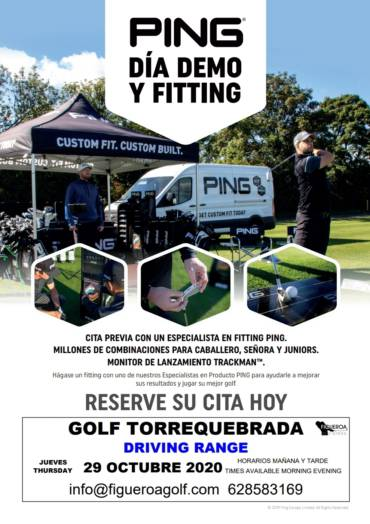 Ping Custom Fitting October the 29th 2020